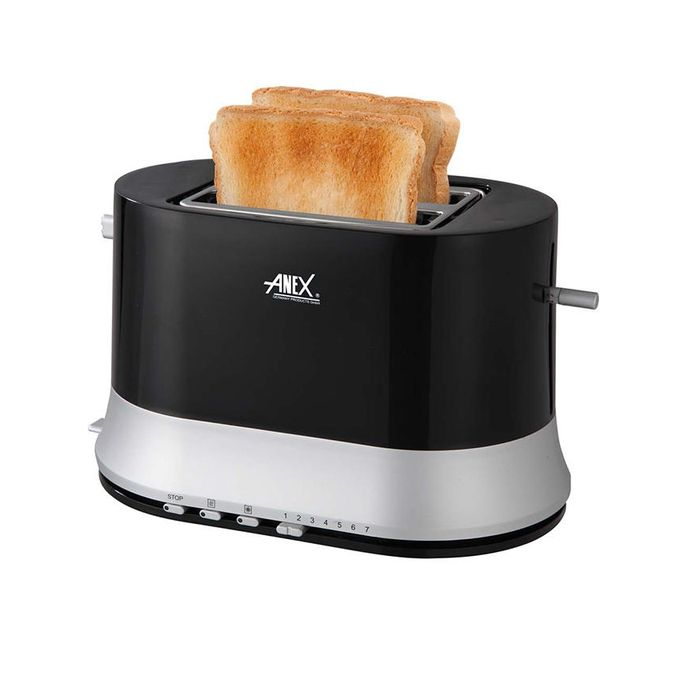 Anex AG-3017 - 2 Slice Toaster - Black